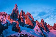 The Cerro Torre Massif