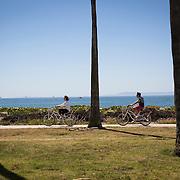 Life along Cabrillo Blvd in Santa Barbara, CA.