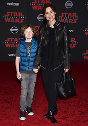 Henry Driver, Minnie Driver attend the world premiere of Disney Pictures and Lucasfilm's 'Star Wars: The Last Jedi' at The Shrine Auditorium on December 9, 2017 in Los Angeles, CA, USA. Photo by Lionel Hahn/ABACAPRESS.COM