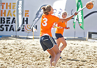 SCHEVENINGEN - Beachhockey in The Hague Beach Stadion. Foto Koen Suyk