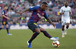 May 12, 2019 - Barcelona, Spain - Malcom during the match between FC Barcelona angd Getafe, corresponding to the round 37 of the Liga Santander, played at the Camp Nou Stadium, on 12th May 2019, in Barcelona, Spain. (Credit Image: © Joan Valls/NurPhoto via ZUMA Press)