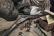 Parker GH Grade Shotgun and Duck Hunting Gear