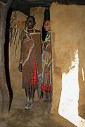 People of the Datoga tribe.   Lake Eyasi, northern Tanzania.