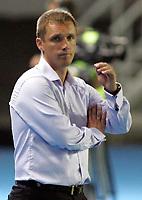 BILDET INNGÅR IKKE I FASTAVTALENE MEN MÅ KJØPES SEPARAT<br /> <br /> Fotball<br /> Foto: imago/Digitalsport<br /> NORWAY ONLY<br /> <br /> 25.07.2012<br /> Skopje (Former Yugoslav Republic Macedonia) FK Vardar-FK Bate Borisov UEFA Champions League qualifying 2nd leg <br /> <br /> Viktor Goncharenko FK Bate Borisov coach