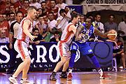 DESCRIZIONE : Campionato 2014/15 Serie A Beko Grissin Bon Reggio Emilia - Dinamo Banco di Sardegna Sassari Finale Playoff Gara7 Scudetto<br /> GIOCATORE : Sanders Rakim<br /> CATEGORIA : tecnica controcampo<br /> SQUADRA : Banco di Sardegna Sassari<br /> EVENTO : Campionato Lega A 2014-2015<br /> GARA : Grissin Bon Reggio Emilia - Dinamo Banco di Sardegna Sassari Finale Playoff Gara7 Scudetto<br /> DATA : 26/06/2015<br /> SPORT : Pallacanestro<br /> AUTORE : Agenzia Ciamillo-Castoria/GiulioCiamillo<br /> GALLERIA : Lega Basket A 2014-2015<br /> FOTONOTIZIA : Grissin Bon Reggio Emilia - Dinamo Banco di Sardegna Sassari Finale Playoff Gara7 Scudetto<br /> PREDEFINITA :