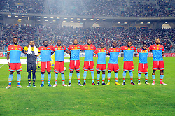 September 1, 2017 - Tunis, Tunisia - Team of RD Congo during the qualifying match for the World Cup Russia 2018 between Tunisia and the Democratic Republic of Congo (RD Congo) at the Rades stadium in Tunis. (Credit Image: © Chokri Mahjoub via ZUMA Wire)
