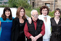 Edinburgh International Film Festival 2019<br /> <br /> Astronaut (World Premiere)<br /> <br /> Pictured:  Carolyn Saunders (editor), Shelagh McLeod, Richard Dreyfuss, Mimi Kuzyk and Jessica Adams (producer)<br /> <br /> Alex Todd | Edinburgh Elite media