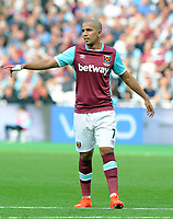 Football - 2016 / 2017 Premier League - West Ham United vs Southampton<br /> <br /> <br /> Sofiane Feghouli of West ham at the Olympic Park.<br /> <br /> <br /> Credit : Colorsport / Andrew Cowie