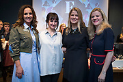 NO FEE PICTURES<br /> 12/4/18 Jenny Huston and Leah Hewson with Lorraine Keane and Nuala Carey at the launch of their jewellery and fine art collaboration, Edge Only x Leah Hewson at The Dean Dublin. Arthur Carron