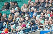 Twickenham, Surrey, 12th December 2019, Cambridge Supporters, The Women's Varsity Match, Oxford University vs Cambridge University, RFU Stadium, England.  <br /> <br /> [Mandatory Credit; Peter SPURRIER/Intersport Images]