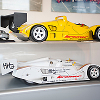 Kremer Porsche K8 Spyder Model Car (top) & Model Car of Kremer Porsche CK7 Spyder raced at the 1993 Interserie Most with driver Tomas Saldana (bottom), Kremer Racing Workshop 2007