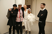 Tamara Rojo, Prima Ballerina, Norman Rosenthall and artist <br />