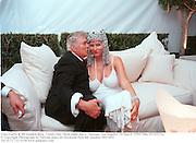 Tony Curtis & Jill Vanden Berg.  Vanity Fair Oscar night party. Mortons. Los Angeles. 28 March 1999. Film 99182f25a<br />© Copyright Photograph by Dafydd Jones 66 Stockwell Park Rd. London SW9 0DA<br />Tel 0171 733 0108 www.dafjones.com