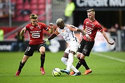 May 19, 2018 - Rennes, France, France - Oyongo Bitolo Ambroise (Montpellier) vs BOURIGEAUD Benjamin  (Credit Image: © Panoramic via ZUMA Press)