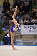 Emma Pantini from Gymnica 96 team during the Italian Rhythmic Gymnastics Championship in San Sepolcro, 15 December 2018.