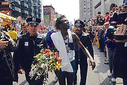 Winner Ibrahim Hussein Of The Boston Marathon 1992