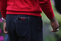 September 10, 2018 - Newtown Square, Pennsylvania, United States - Tiger Woods monogram scorebook seen after the final round of the 2018 BMW Championship. (Credit Image: © Debby Wong/ZUMA Wire)