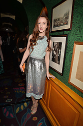 Olivia Grant at the  Annabel's Bright Young Things Party at Annabel's, Berkeley SquareLondon England. 8 June 2017.<br /> Photo by Dominic O'Neill/SilverHub 0203 174 1069 sales@silverhubmedia.com