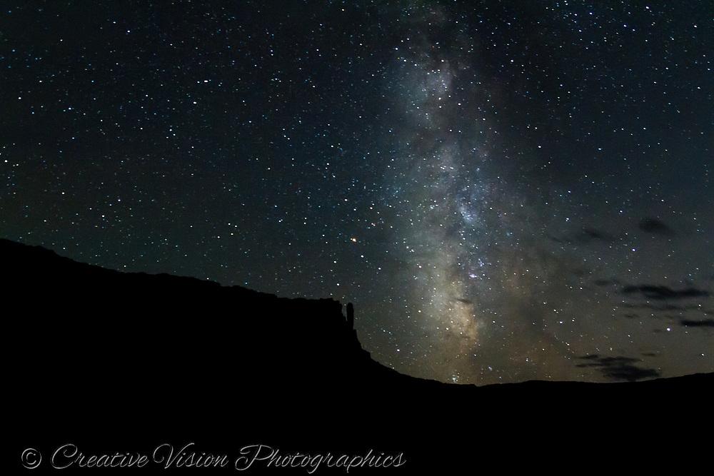 Milky Way on the White Rim Trail