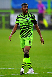 Ebou Adams of Forest Green Rovers- Mandatory by-line: Nizaam Jones/JMP - 03/10/2020 - FOOTBALL - the innocent [insert name here] stadium - Nailsworth, England - Forest Green Rovers v Walsall - Sky Bet League Two