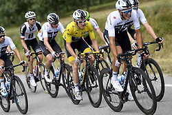 July 20, 2018 - Valence, France - VALENCE, FRANCE - JULY 20 :  THOMAS Geraint (GBR) of Team SKY during stage 13 of the 105th edition of the 2018 Tour de France cycling race, a stage of 169.5 kms between Bourg d'Oisans and Valence on July 20, 2018 in Valence, France, 20/07/2018 (Credit Image: © Panoramic via ZUMA Press)