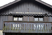 Nederlands, Arnhem, 22-9-2016Voormalig Hotel Dreyeroord in Oosterbeek gaat gesloopt worden. Veel mensen wilden het behouden vanwege haar rol in de slag om Arnhem in 1944.Foto: Flip Franssen