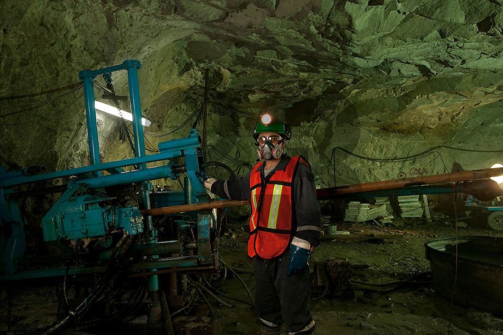 Exploration activities in the mining industry