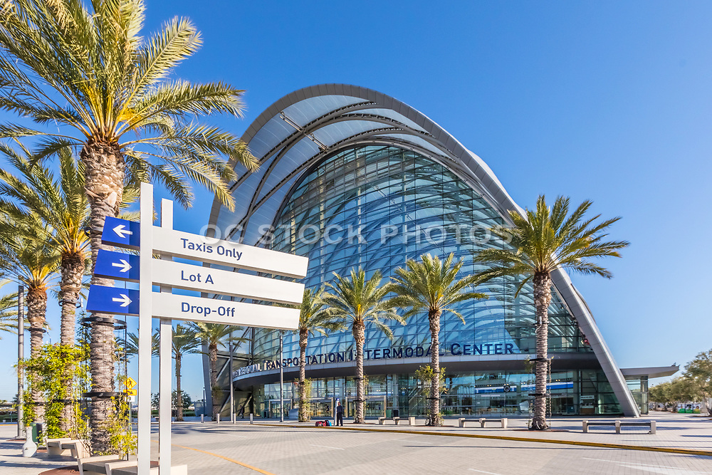 ARTIC Front Entrance in Anaheim