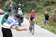 Simon Yates (GBR, Mitchelton Scott) during the 73th Edition of the 2018 Tour of Spain, Vuelta Espana 2018, Stage 15 cycling race, 15th stage Ribera de Arriba - Lagos de Covadonga 178,2 km on September 9, 2018 in Spain - Photo Luis Angel Gomez/ BettiniPhoto / ProSportsImages / DPPI