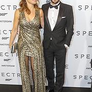 NLD/Amsterdam/20151028 - Premiere James Bondfilm Spectre, Heleen van Royen en partner Bart Meeldijk