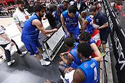 Time out Brescia, EA7 EMPORIO ARMANI OLIMPIA MILANO vs  GERMANI BASKET BRESCIA, gara 2 Semifinale Play off Lega Basket Serie A 2017/2018, Mediolanum Forum Assago (MI) 26 maggio 2018 - FOTO: Bertani/Ciamillo