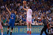 DESCRIZIONE: Torino Turin 2016 FIBA Olympic Qualifying Tournament Finale Final Italia Croazia Italy Croatia<br /> GIOCATORE : Krunoslav Simon<br /> CATEGORIA : tiro three points controcampo<br /> SQUADRA : Croazia Croatia<br /> EVENTO : 2016 FIBA Olympic Qualifying Tournament <br /> GARA : 2016 FIBA Olympic Qualifying Tournament Finale Final Italia Croazia Italy Croatia<br /> DATA : 09/07/2016<br /> SPORT: Pallacanestro<br /> AUTORE : Agenzia Ciamillo-Castoria/Max.Ceretti <br /> Galleria : 2016 FIBA Olympic Qualifying Tournament <br /> Fotonotizia : Torino Turin 2016 FIBA Olympic Qualifying Tournament Finale Final Italia Croazia Italy Croatia<br /> Predefinita :
