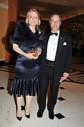 VISCOUNT & VISCOUNTESS CHELSEA at Fashion For The Brave held at The Dorchester Hotel, Park Lane, London on 20th September 2012.