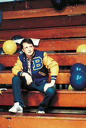 1985; Teen Wolf. Original Film Title: Teen Wolf, PICTURED: MICHAEL J. FOX, Composer: Miles Goodman, Director: Rod Daniel, IN CAST: Michael J. Fox, Susan Ursitti, Jason Bateman, Kim Darby, John Astin, Paul Sand, Jerry Levine  (Credit Image: © Entertainment Pictures/Entertainment Pictures/ZUMAPRESS.com)