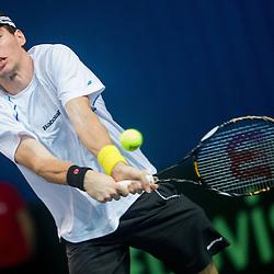 20140131: SLO, Tennis - Davis Cup, Slovenia vs Portugal, day 1