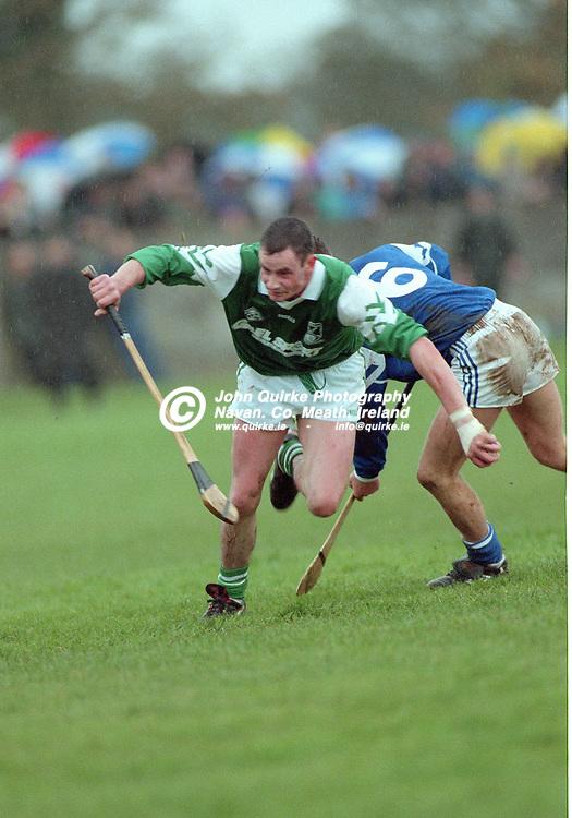 27-10-1996. Rathmolyon v Kilmessan - Meath SHC Final 1996.<br /> Denis Ashe in action for Rathmolyon.<br /> Photo: John Quirke / www.quirke.ie<br /> ©John Quirke Photography, 16 Proudstown Road, Navan. Co. Meath. (info@quirke.ie / 046-9028461 / 087-2579454).