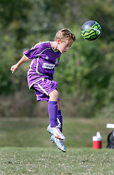 04 October 2015. Mandeville, Louisiana.<br /> New Orleans Jesters Youth Academy.<br /> U10 team purple take on Mandeville Brown. Jesters emerge victorious.<br /> Photo©; Charlie Varley/varleypix.com