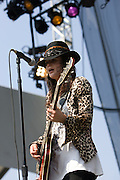 Friday, August 1, 2008; The Kills performs at Lollapalooza 2008..Photo by Bryan Rinnert