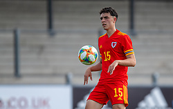 NEWPORT, WALES - Friday, September 3, 2021: Wales' Daniel Davies during an International Friendly Challenge match between Wales Under-18's and England Under-18's at Spytty Park. (Pic by David Rawcliffe/Propaganda)