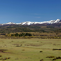 South America, Argentina, Bariloche. Scenery of the Road of the Seven Lakes in Patagonia.