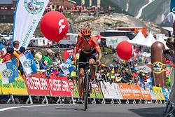 10.07.2019, Fuscher Törl, AUT, Ö-Tour, Österreich Radrundfahrt, 4. Etappe, von Radstadt nach Fuscher Törl (103,5 km), im Bild Victor de la Parte (ESP, CCC Team) // Victor de la Parte of Spain (CCC Team) during 4th stage from Radstadt to Fuscher Törl (103,5 km) of the 2019 Tour of Austria. Fuscher Törl, Austria on 2019/07/10. EXPA Pictures © 2019, PhotoCredit: EXPA/ Reinhard Eisenbauer