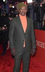 """Samuel L. Jackson at the Broadway opening of """"To Kill A Mockingbird"""" in New York City."""