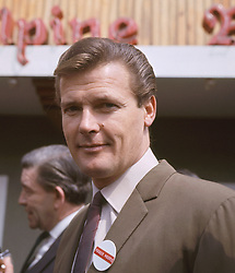 File photo dated 07/05/66 of Sir Roger Moore, who has died in Switzerland after a short battle with cancer, his family has announced.
