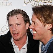 NLD/Amsterdam/20100322 -  Uitreiking Rembrandt Awards 2009, Edwin Jansen en Jeroen Rietbergen