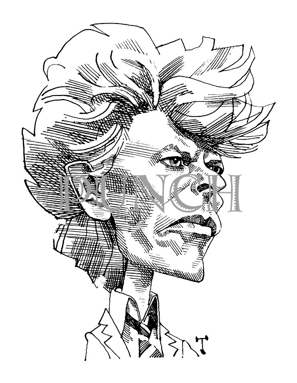 Portrait of David Bowie