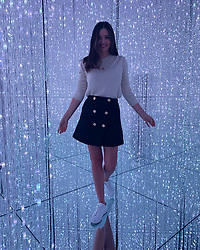 """Miranda Kerr releases a photo on Twitter with the following caption: """"""""Pure magic ✨<br /> #teamlab #teamlabborderless<br /> @teamlab_borderless <br /> @teamlab_news"""""""". Photo Credit: Twitter *** No USA Distribution *** For Editorial Use Only *** Not to be Published in Books or Photo Books ***  Please note: Fees charged by the agency are for the agency's services only, and do not, nor are they intended to, convey to the user any ownership of Copyright or License in the material. The agency does not claim any ownership including but not limited to Copyright or License in the attached material. By publishing this material you expressly agree to indemnify and to hold the agency and its directors, shareholders and employees harmless from any loss, claims, damages, demands, expenses (including legal fees), or any causes of action or allegation against the agency arising out of or connected in any way with publication of the material."""