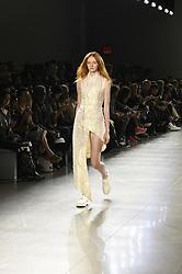 September 12, 2018 - New York, New York, U.S - September, 2018 - New York, New York  U.S. - A model on the runway at the HOGAN MCLAUGHLIN S/S 2019 RTW show during New York Fashion Week 2018.  (Credit image (c) Theano Nikitas/ZUMA Wire/ZUMAPRESS.com (Credit Image: © Theano Nikitas/ZUMA Wire)