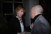 Julia Peyton-Jones, , Ellsworth Kelly exhibition opening. Serpentine Gallery and afterwards at the River Cafe. London. 17 March 2006. ONE TIME USE ONLY - DO NOT ARCHIVE  © Copyright Photograph by Dafydd Jones 66 Stockwell Park Rd. London SW9 0DA Tel 020 7733 0108 www.dafjones.com