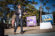 Louisiana Gov. Bobby Jindal giving a keynote speach at an anti abortion rally in Baton Rouge before speaking at 'The Response', Both event on the campus of LSU in Baton Rouge.