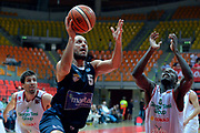 """DESCRIZIONE : Livorno Trofeo Labronica Basket """"Allianz"""" Manital Torino Giorgio Tesi Group Pistoia<br /> GIOCATORE : Jacopo Giachetti<br /> CATEGORIA : tiro sottomano<br /> SQUADRA : Manital Torino<br /> EVENTO : Trofeo Labronica Basket """"Allianz""""<br /> GARA : Manital Torino Giorgio Tesi Group Pistoia<br /> DATA : 25/09/2015<br /> SPORT : Pallacanestro <br /> AUTORE : Agenzia Ciamillo-Castoria/Max.Ceretti"""